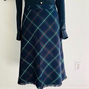 Liz Claiborne PLAID A-line Skirt